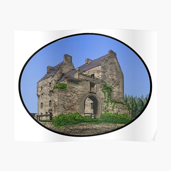 Lallybroch Midhope Castle Summer Poster