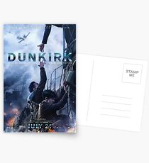Official poster 5 (Alex and Tommy) - DUNKIRK Postcards