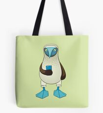 Blue-footed Booby with Phone Tote Bag