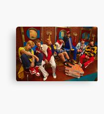 BTS DNA  Canvas Print
