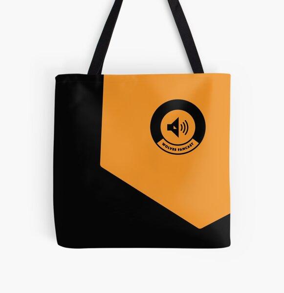 Golden square logo All Over Print Tote Bag