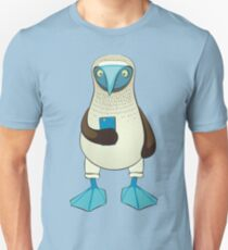 Blue-footed Booby with iPhone T-Shirt