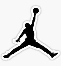 Jump man Sticker