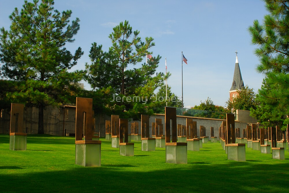 OKC National Memorial-The Survivor Chairs.... by Jeremy  Jones