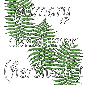 Primary Consumer (Herbivore) by peaceofpistudio