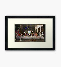 Last Monkey Island Supper Framed Print