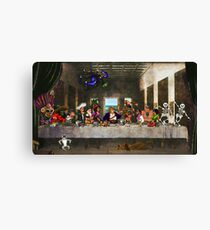 Last Monkey Supper Canvas Print