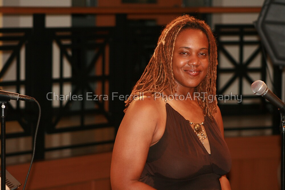African Songtress - Penny Wells by Charles Ezra Ferrell - PhotoARTgraphy