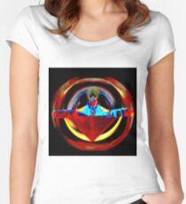 Warping Sphinx Women's Fitted Scoop T-Shirt