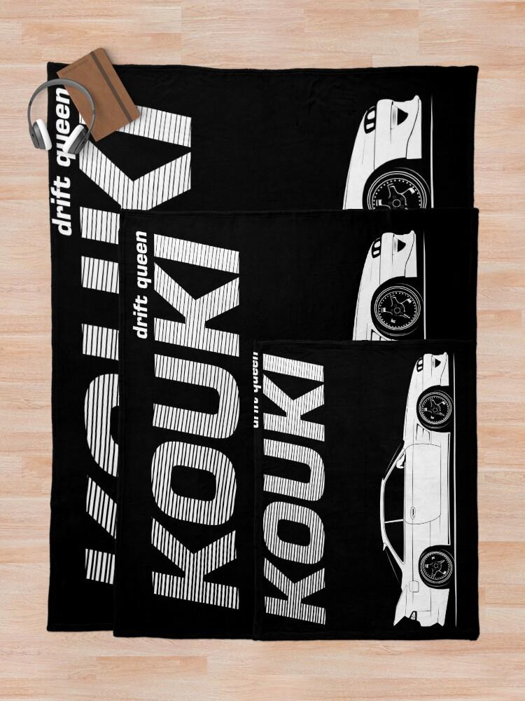 Alternate view of Nissan Silvia s14 Kouki Throw Blanket