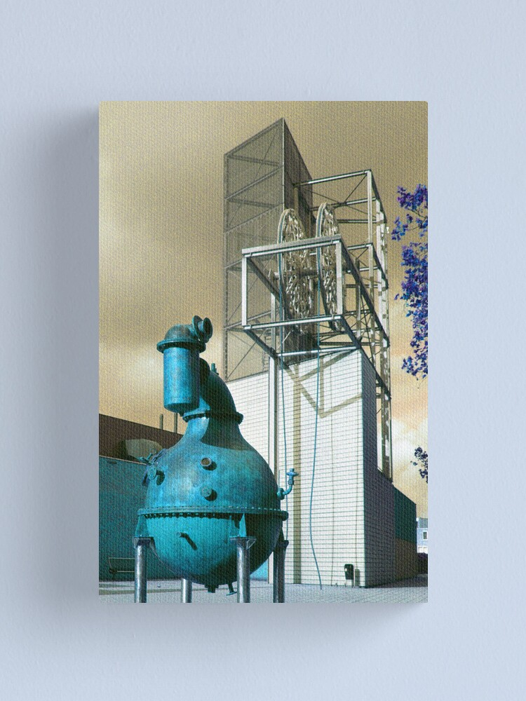 Alternate view of Industrion - strange reality Canvas Print