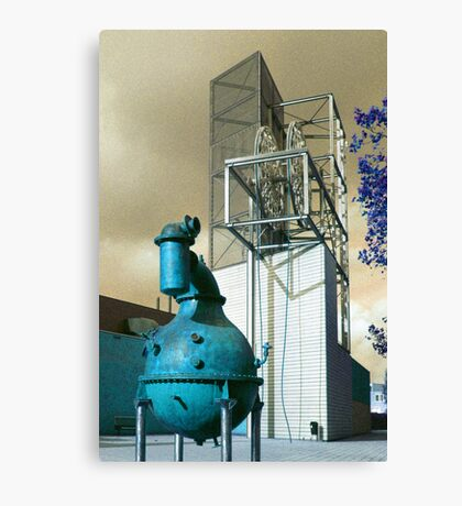 Industrion - strange reality Canvas Print