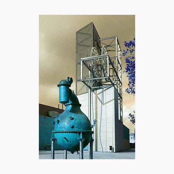 Industrion - strange reality Photographic Print