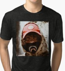 Lil Xan - Slingshot Picture High Quality Design Tri-blend T-Shirt