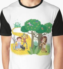 Cowardly Lion Graphic T-Shirt