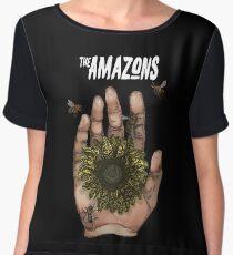 The Amazons Bee Hand Women's Chiffon Top