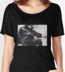 Lil Xan REDRUM MURDER Cover Photo Picture Women's Relaxed Fit T-Shirt