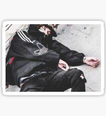 Lil Xan REDRUM MURDER Cover Photo Picture Sticker