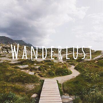 Wanderlust w/ Type by thomasrichter