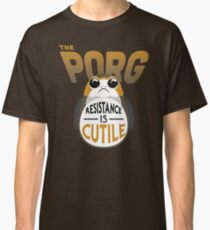 Resistance Is Cutile Porg Classic T-Shirt