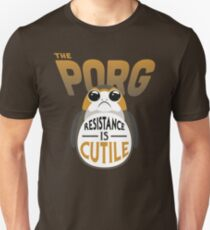 Resistance Is Cutile Porg T-Shirt