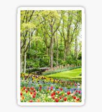 Tulip Wonderland - Amsterdam Sticker