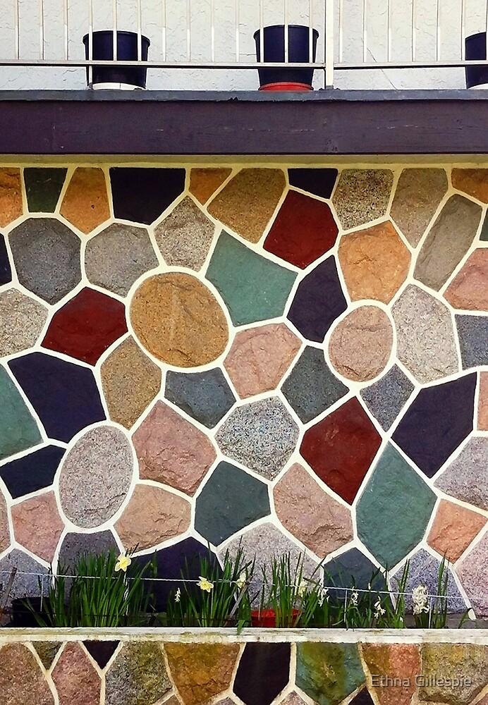 Stucco Wall  by Ethna Gillespie
