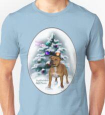 Staffordshire Bull Terrier Christmas Gifts T-Shirt