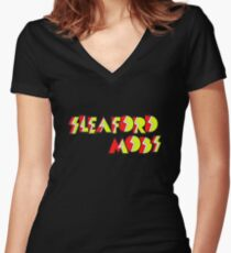 Sleaford Mods Women's Fitted V-Neck T-Shirt