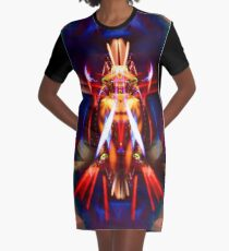 The Fembot Oracle : 4 of Diamonds - Potency Graphic T-Shirt Dress