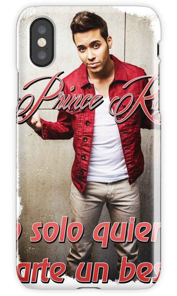 """Prince Royce 1 - Darte un Beso "" iPhone Cases & Skins by ..."