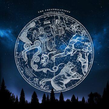 Zodiac Star Karte von mavisshelton
