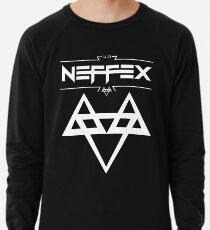 NEFFEX 2 Logo White Lightweight Sweatshirt