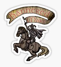 The Bannered Mare Sticker