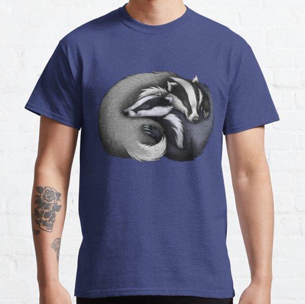 Couple de blaireaux T-shirt classique