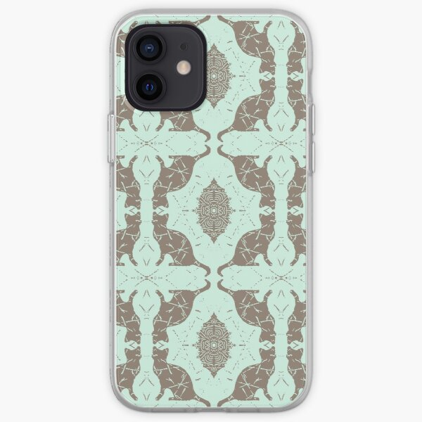 Mint Chocolate Cats iPhone Soft Case