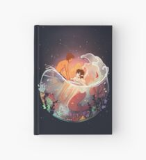 Flowers and Stars Hardcover Journal