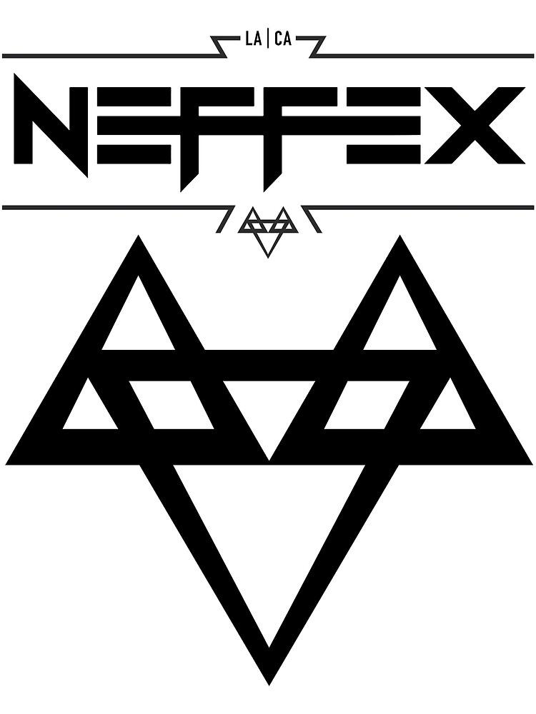 Quot Neffex 2 Logo Black Quot By Neffex Redbubble