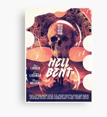 Hell Bent Canvas Print