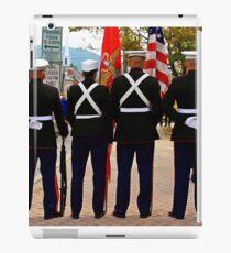 4 Marines iPad Case/Skin