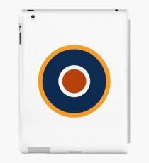 WAR, Spitfire, Bulls eye, Target, Archery, Plane, Aircraft, Flight, Wing, on white iPad Case/Skin