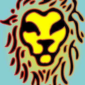 Lion Face by tompanter