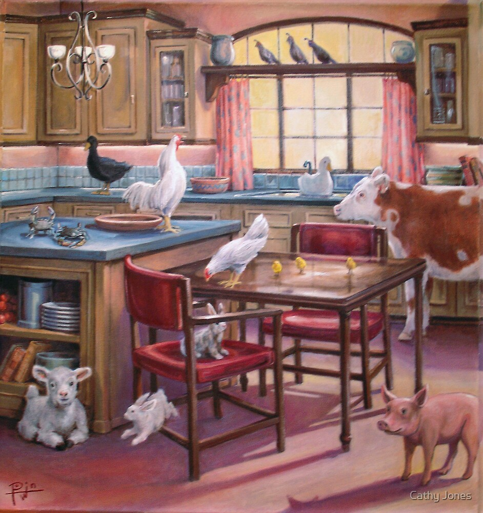 OCCUPATION OF THE KITCHEN by Cathy Jones