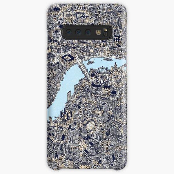 London Map Drawing color Samsung Galaxy Snap Case