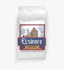"""Elsinore Beer"" - as seen on ""Strange Brew"" Duvet Cover"