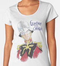 『GUNDAM』Char Aznable Premium Scoop T-Shirt