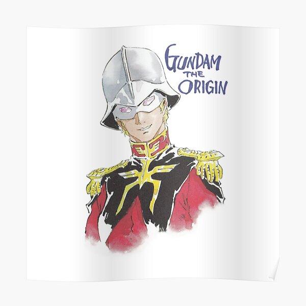 『GUNDAM』Char Aznable Poster