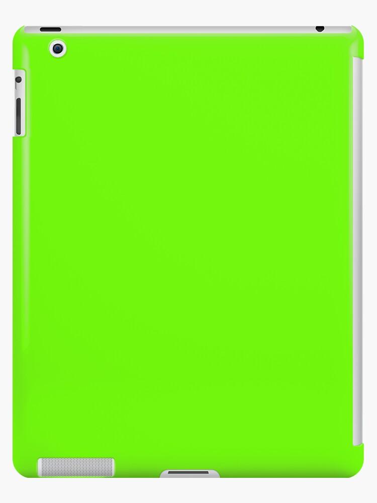 Super helles fluoreszierendes grünes Neon von podartist