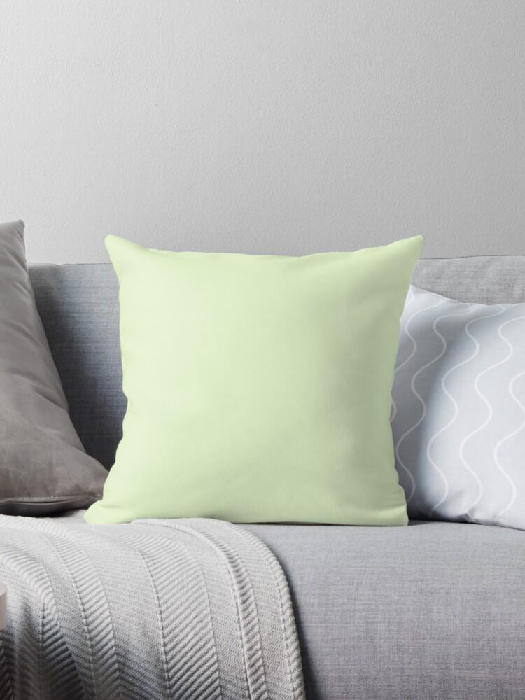 Soft Pale Celery Green Pastel by podartist