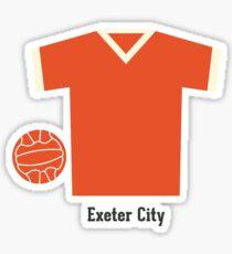 Exeter City Sticker
